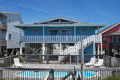 Holden Beach Single Family Home For Sale: 571 Ocean Boulevard W