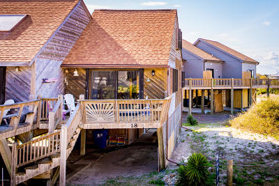 North Topsail Beach, Surf City, Topsail Beach Condo/Townhouse For Sale: 892 New River Inlet Road #18