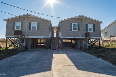 Emerald Isle Multi Family Home For Sale: 1301 Ocean Drive #West Sid