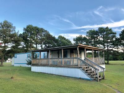 Beaufort Manufactured Home For Sale: 157 Dill's Point Road