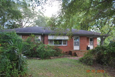 Jacksonville Single Family Home For Sale: 156 Lakewood Drive