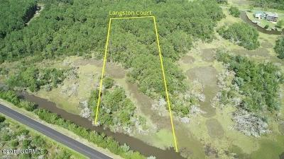 Sneads Ferry Residential Lots & Land For Sale: 30, 31, 32 Langston Court
