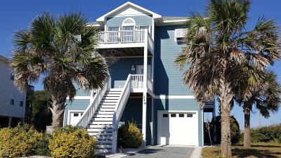 North Topsail Beach, Surf City, Topsail Beach Single Family Home For Sale: 310 Lanterna Lane