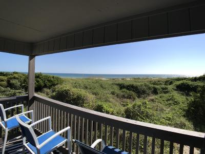 Atlantic Beach Condo/Townhouse For Sale: 2008 E Fort Macon Road #F2