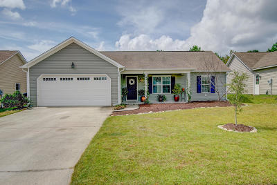Holly Ridge Single Family Home For Sale: 213 Belvedere Drive