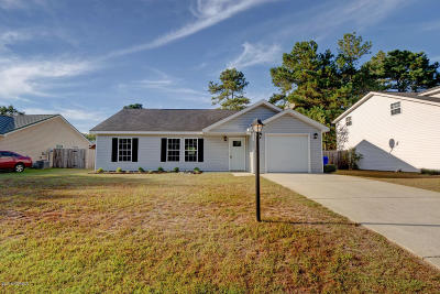 Shallotte Single Family Home For Sale: 4395 Ritz Circle