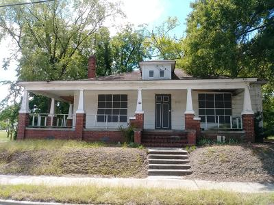 Rocky Mount Single Family Home For Sale: 707 W Thomas Street