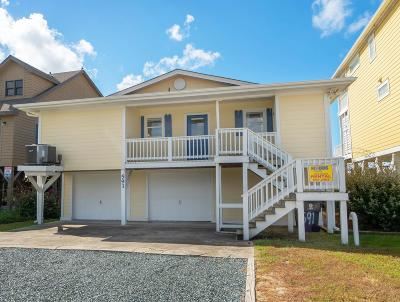 Holden Beach Single Family Home For Sale: 591 Ocean Boulevard W