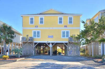 Holden Beach Single Family Home For Sale: 811 Ocean Boulevard W