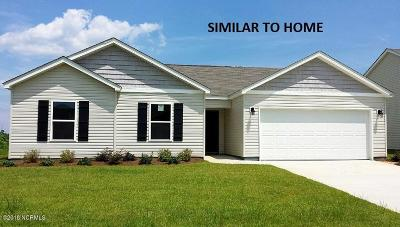 Holly Ridge Single Family Home For Sale: 507 Weswill Circle #Lot 98