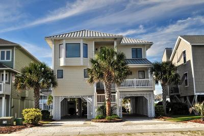 Ocean Isle Beach Single Family Home For Sale: 85 E Second Street