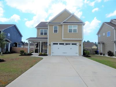 Cape Carteret Single Family Home Active Contingent: 106 Abaco Drive W
