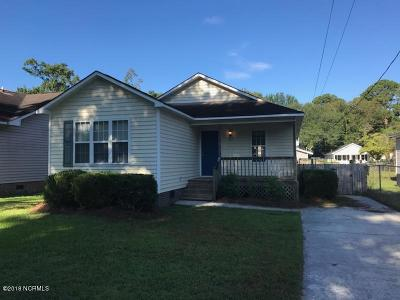Wilmington NC Single Family Home For Sale: $107,000