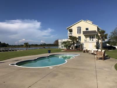 Jacksonville Single Family Home For Sale: 85 Shoreline Drive