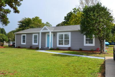 Hubert Single Family Home For Sale: 110 Riegel Drive