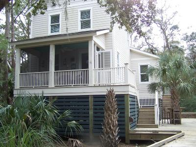 Bald Head Island Single Family Home Pending: 26 Dowitcher Trail