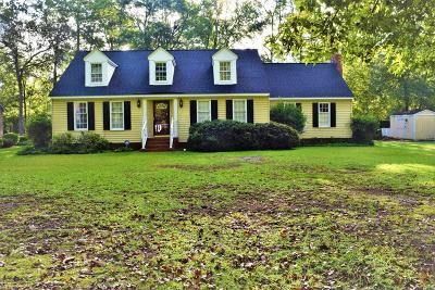 Farmville Single Family Home For Sale: 3630 Hillcrest Drive