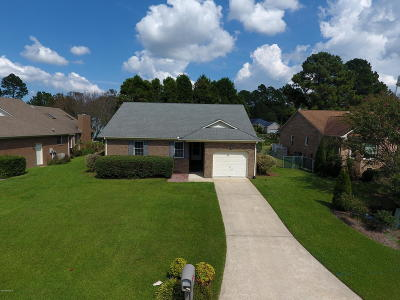 New Bern Single Family Home For Sale: 214 Lakemere Drive