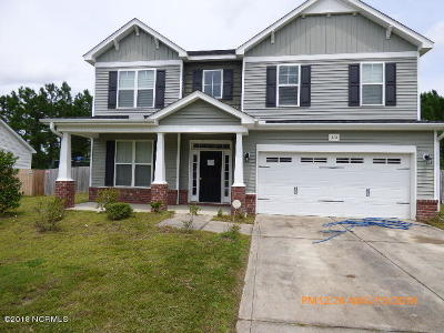Jacksonville Single Family Home For Sale: 313 First Post Road