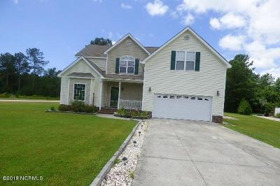 Swansboro Single Family Home For Sale: 129 Otway Burns Drive