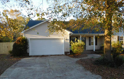 Richlands Single Family Home For Sale: 219 English Walnut Drive