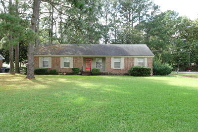 Edgecombe County Single Family Home For Sale: 308 N Glendale Drive