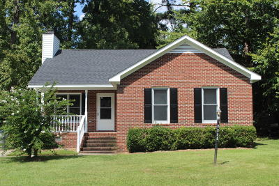 Nash County Single Family Home For Sale: 1604 Oak Bend Road