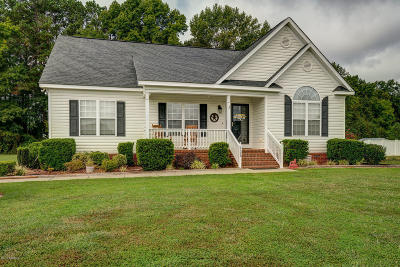 Rocky Mount Single Family Home For Sale: 6688 Wind Chime Court