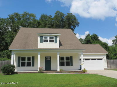 New Bern Single Family Home For Sale: 402 Satterfield Drive