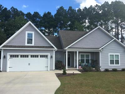 Swansboro Single Family Home For Sale: 314 Coldwater Drive