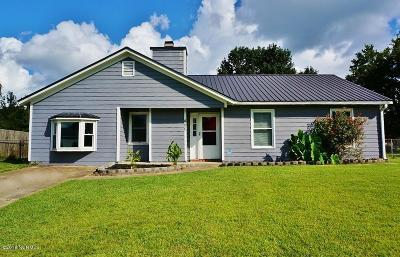 Onslow County Single Family Home For Sale: 485 Hunting Green Drive
