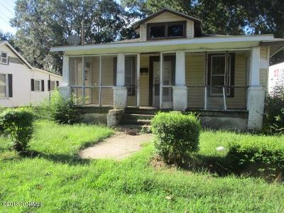 Rocky Mount Single Family Home For Sale: 819 Gay Street