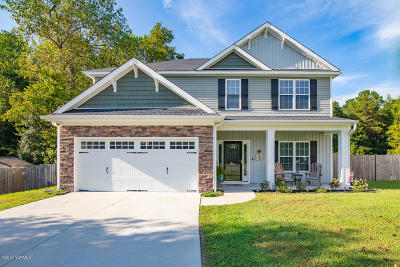 Onslow County Single Family Home For Sale: 506 Shadyside Court