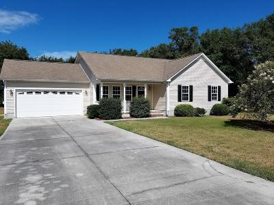 Onslow County Single Family Home For Sale: 110 E Seabird Court