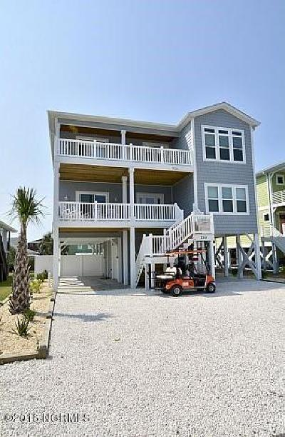 Holden Beach Single Family Home Pending: 259 Brunswick Avenue W
