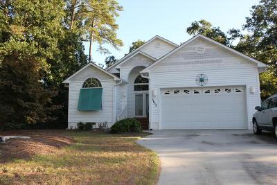 28465 Single Family Home For Sale: 5603 E Yacht Drive