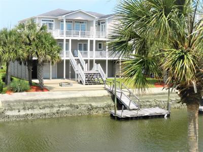 Ocean Isle Beach Single Family Home For Sale: 45 Lee Street