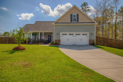 Sneads Ferry Single Family Home For Sale: 113 Welcome Way