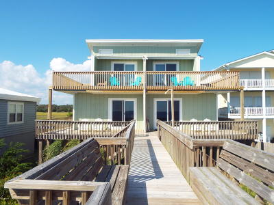Holden Beach Single Family Home For Sale: 499 Ocean Boulevard W