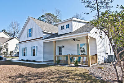 Swansboro Single Family Home For Sale: 117 White Heron Lane
