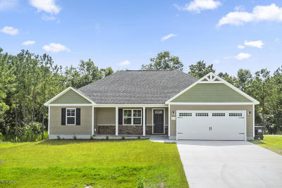 Jacksonville Single Family Home For Sale: 302 Boxwood Court