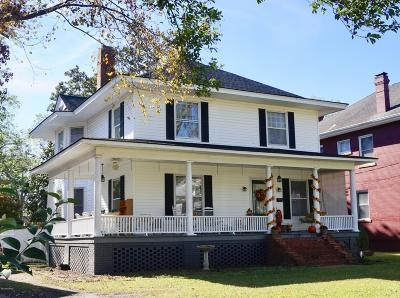 New Bern Single Family Home For Sale: 1229 National Avenue