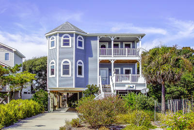 Oak Island Single Family Home For Sale: 2904 E Pelican Drive