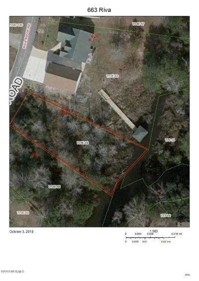 Sneads Ferry Residential Lots & Land For Sale: 633 Riva Ridge Road