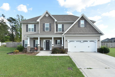 Richlands Single Family Home For Sale: 711 Opus Court