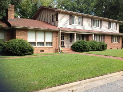 Edgecombe County Single Family Home For Sale: 1200 Martin Luther King Jr Drive