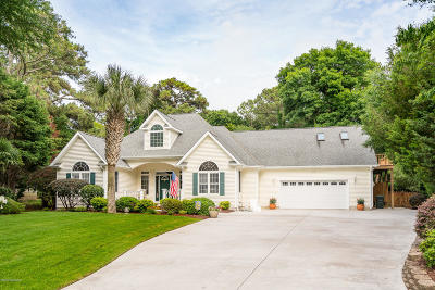 Pine Knoll Shores Single Family Home Active Contingent: 103 Yucca Court