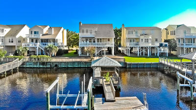 Sunset Beach Single Family Home For Sale: 1415 Canal Drive