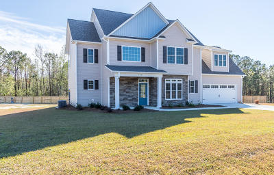 Swansboro Single Family Home For Sale: 100 Ridge Cove Lane