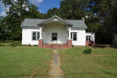 Rocky Mount Single Family Home For Sale: 814 E Raleigh Boulevard